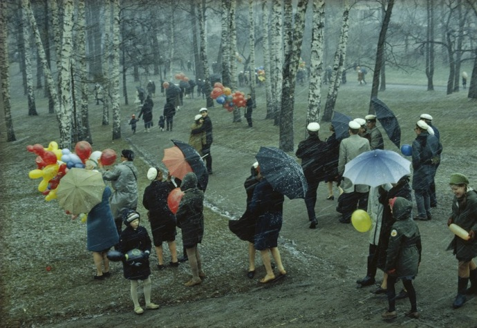Finland, 1968, photo by George F. Mobley